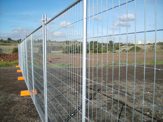 Galvanized Temporary fence panel