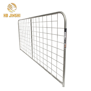 Hot Galvanized Chain Link Fence Gate, Wire Farm Gates