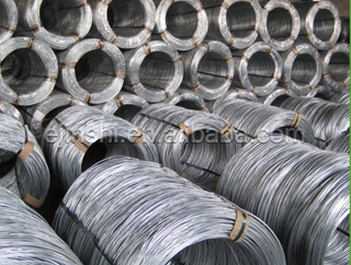 Big coil Hot dipped galvanized wire