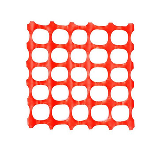 Orange Plastic Safety Netting Fence