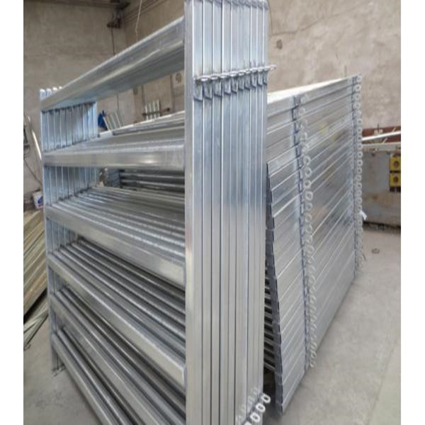 Galvanized Pipe Cattle Fence Panel, Metal Tube Livestock Fence Panel