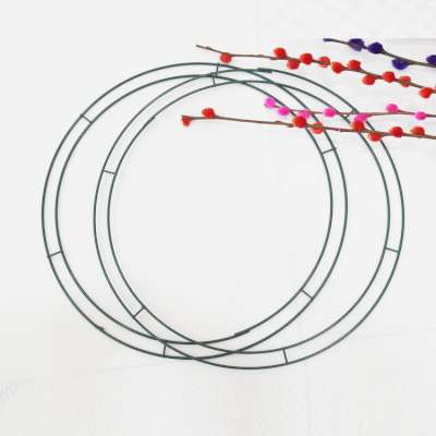 Metal Wire Wreath Rings for Wedding Floral Arrangements Home Party Christmas Decorations