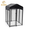 Outdoor Dog Runs Heavy Duty Metal Welded Wire Dog Kennel