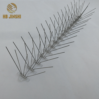 5 rows Stainless Steel Pigeon Control Eco-Friendly Feature Bird Spikes