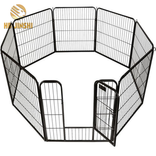 "32"" 8 Panels Heavy Duty Pet Playpen Dog Exercise Pen"