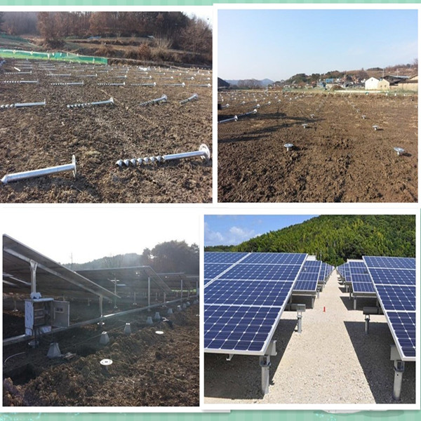 Piles For Solar Ground Mounting System Buy Ground Anchor