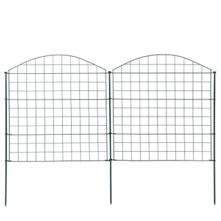 Euro Market Portable PVC Coated Garden Pond Fence